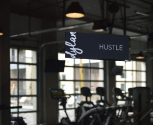 dylan interior amenity room hustle sign