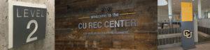 CU Rec Center Wayfinding
