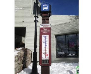 Town of Vail bus map