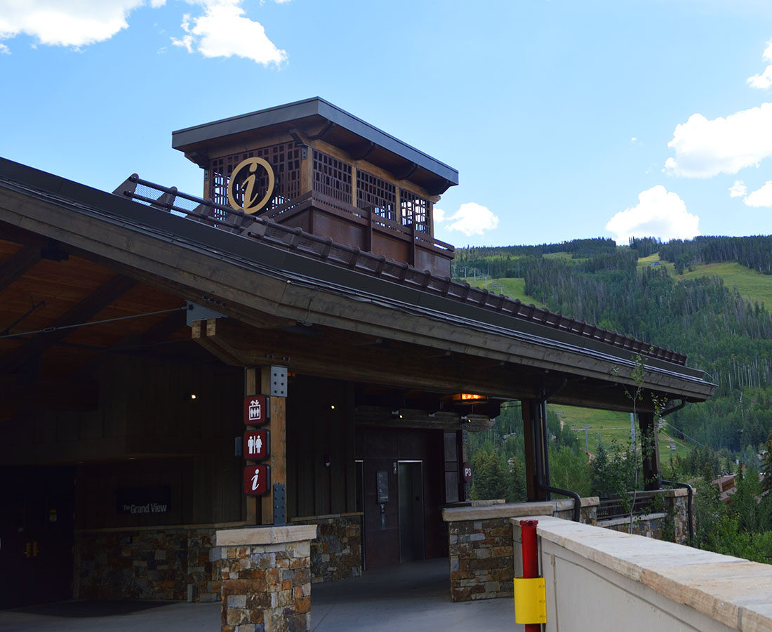 Town of Vail information building