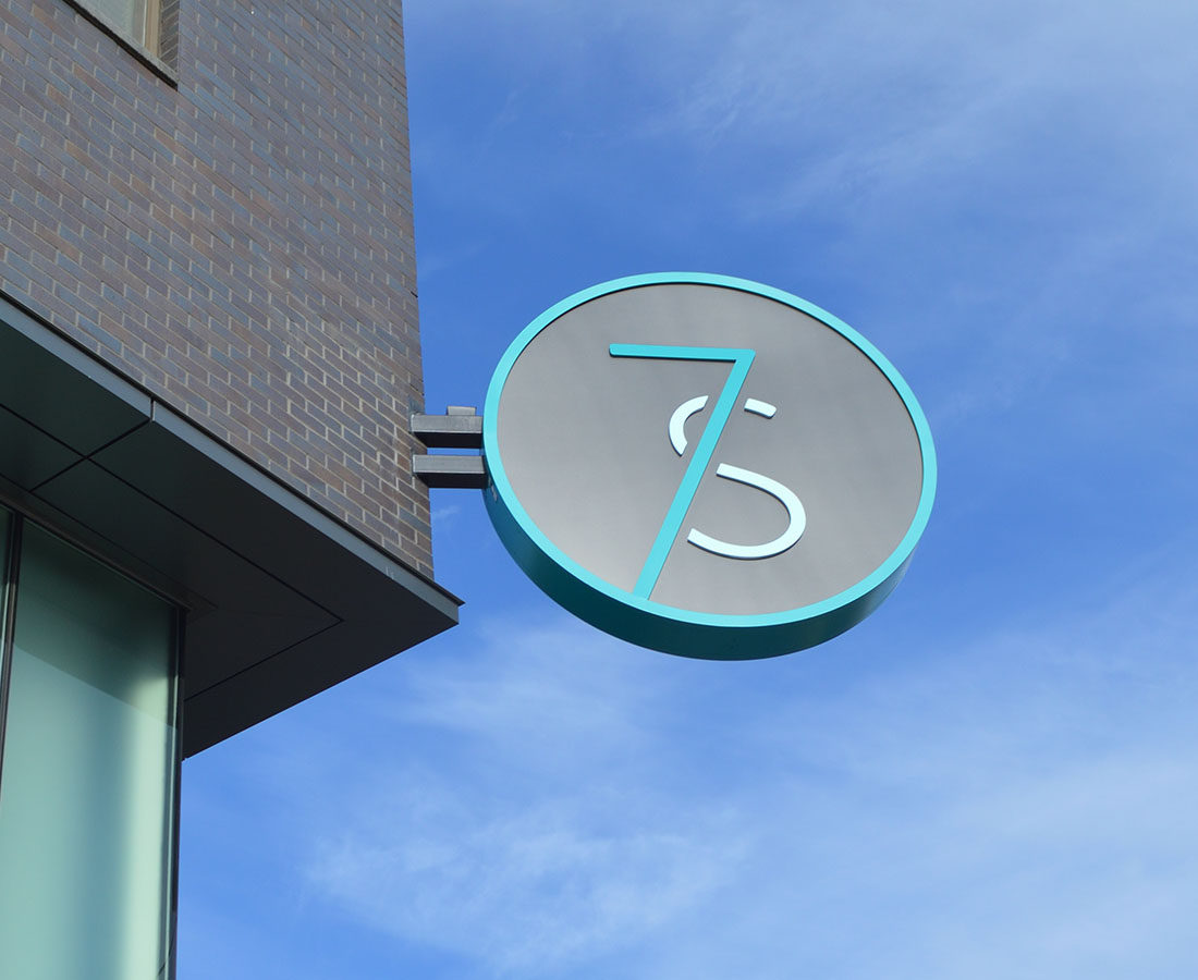 7S Denver Haus blade sign