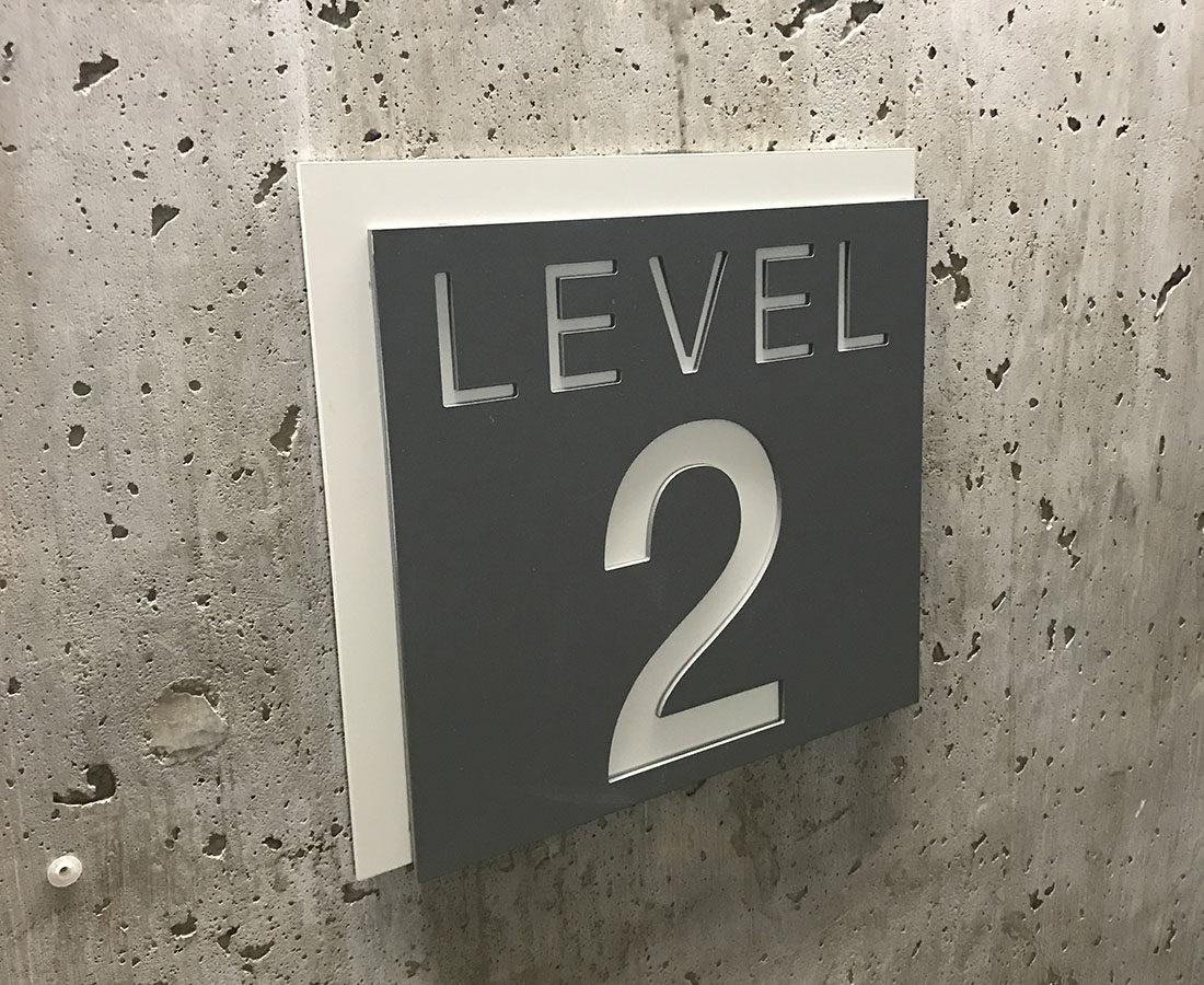 CU Boulder Rec Center level identifier