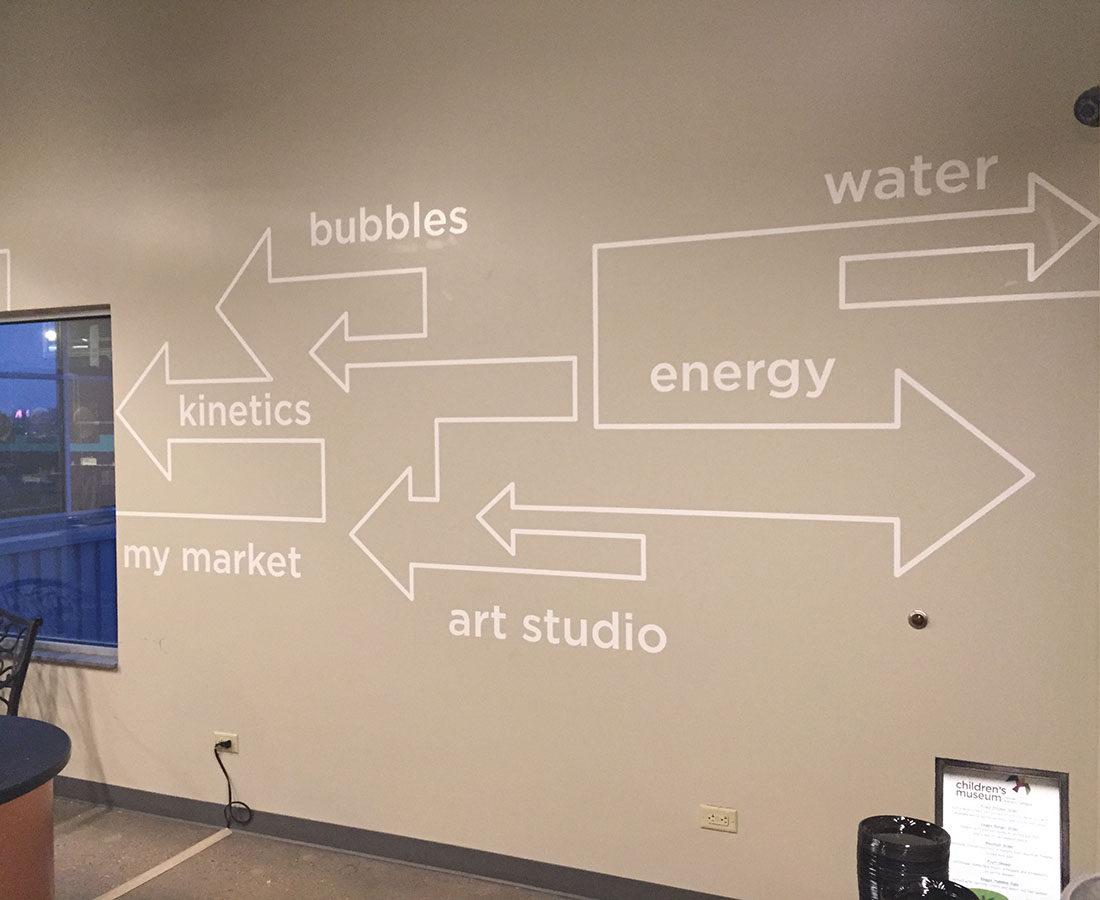 Children's Museum wall graphics