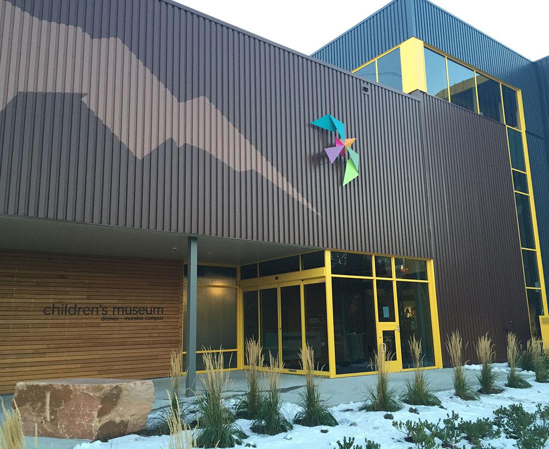 Children's Museum exterior bird feature
