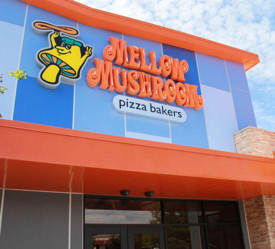 Mellow Mushroom exterior signage
