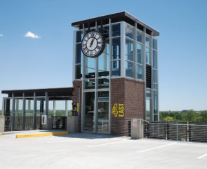 Old Town Arvada RTD station clock