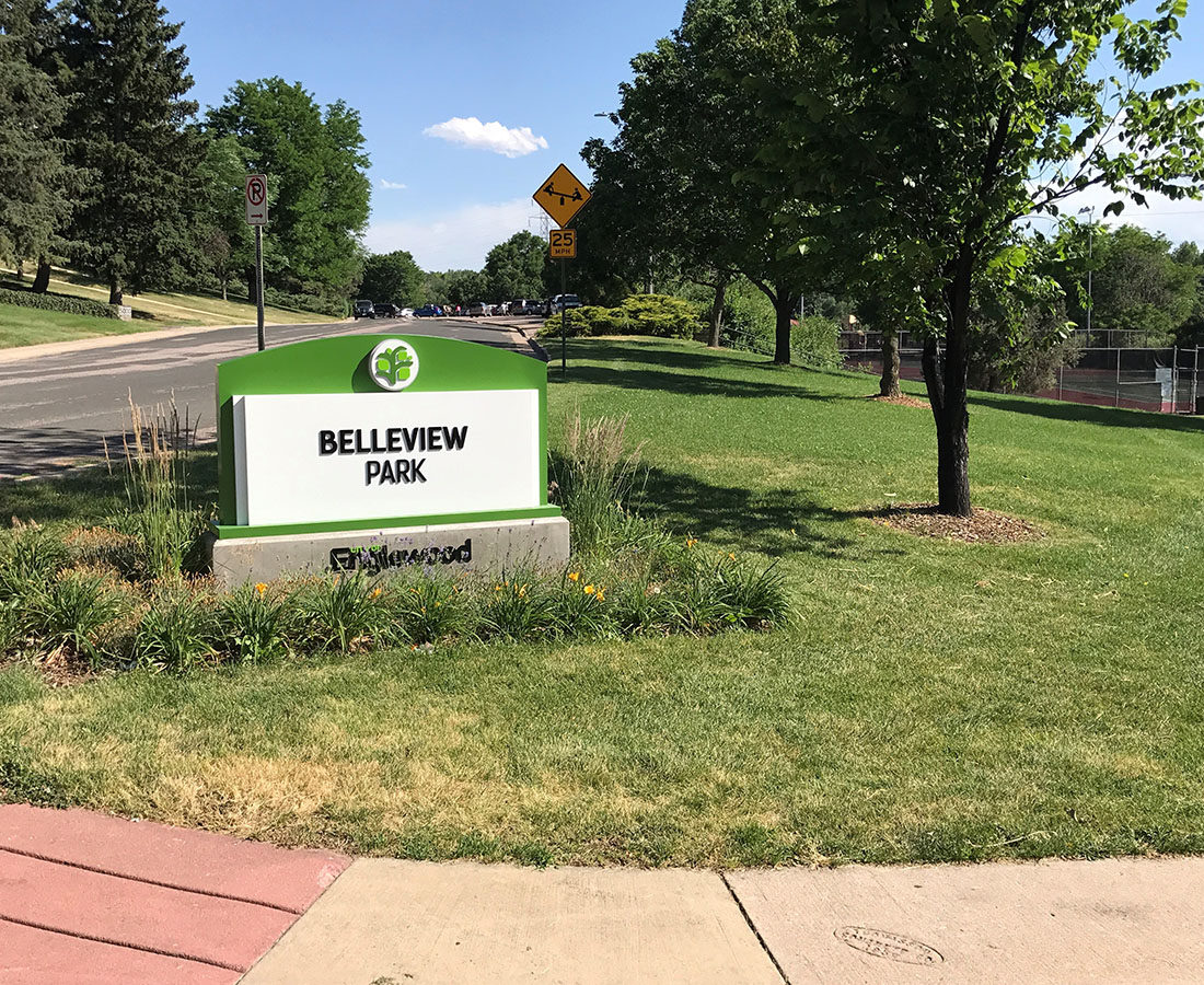 City of Englewood Bellview small monument