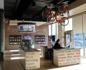 Visit Denver Bike Light Fixture and Graphics