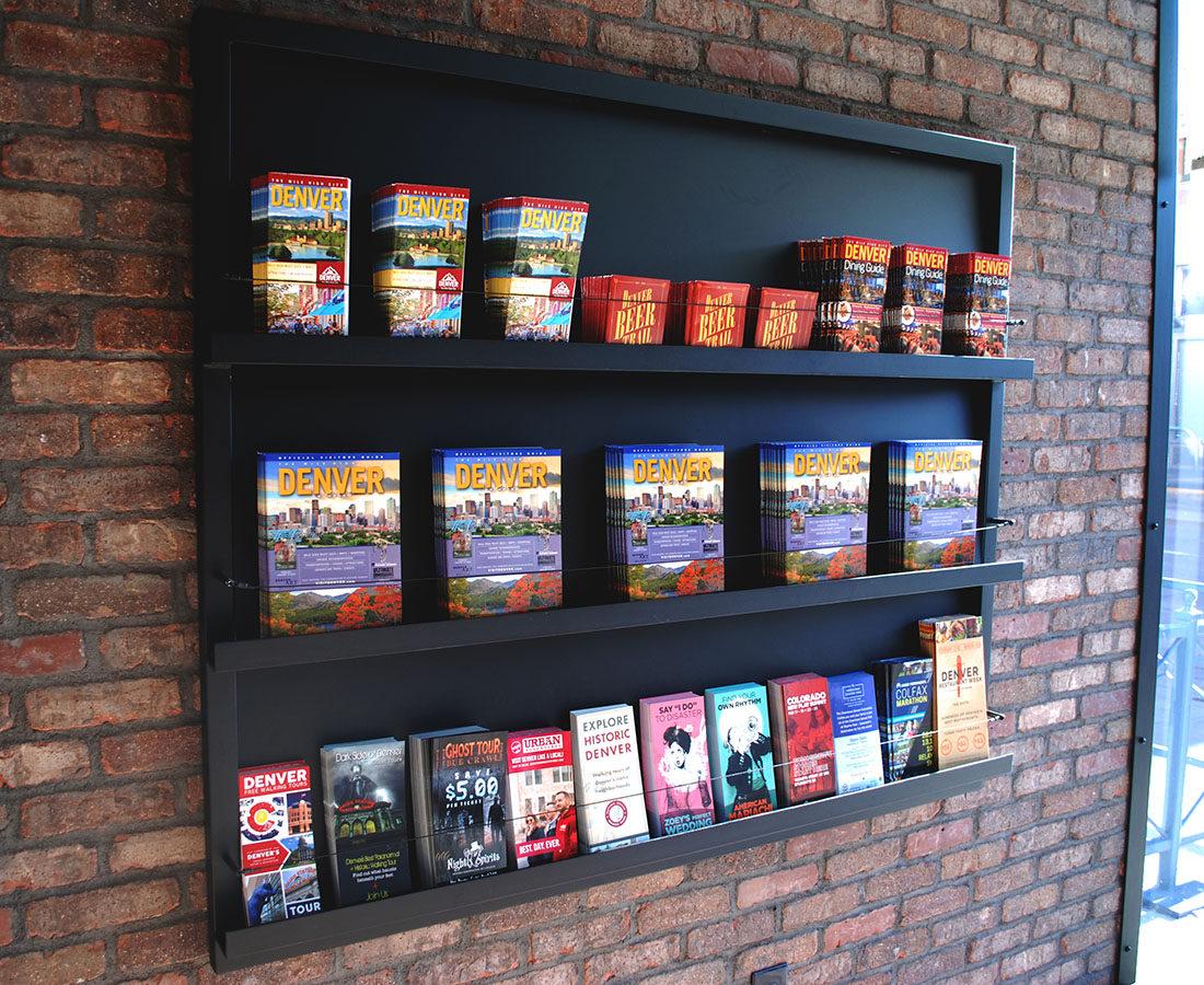 Visit Denver Brochure holder