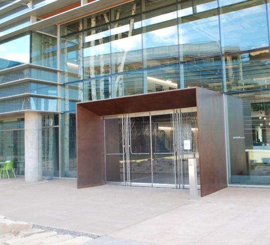 Google Boulder Steel Vestibule Exterior