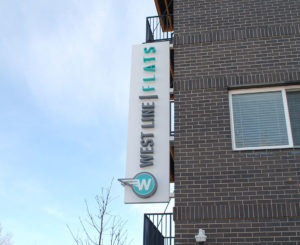 Westline Flats Blade Sign