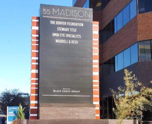 55 Madison and 44 Cook Pylon