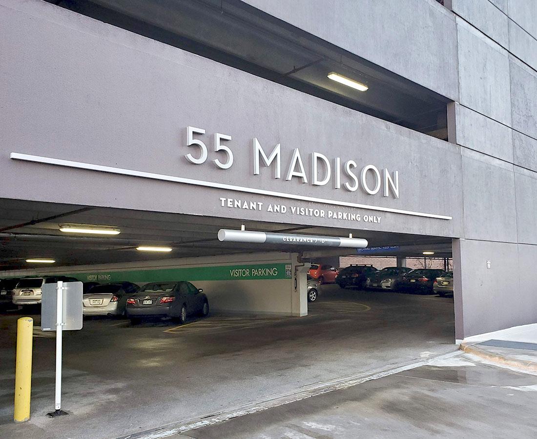 55 Madison parking garage