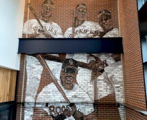 1colorado rockies wallmural painted baseball players