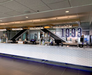 1993 Bar illuminated letterset at the Colorado Rockies Club Level at Coors Field