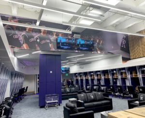 Colorado Rockies locker room graphics