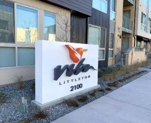 Vita Littleton Monument sign exterior