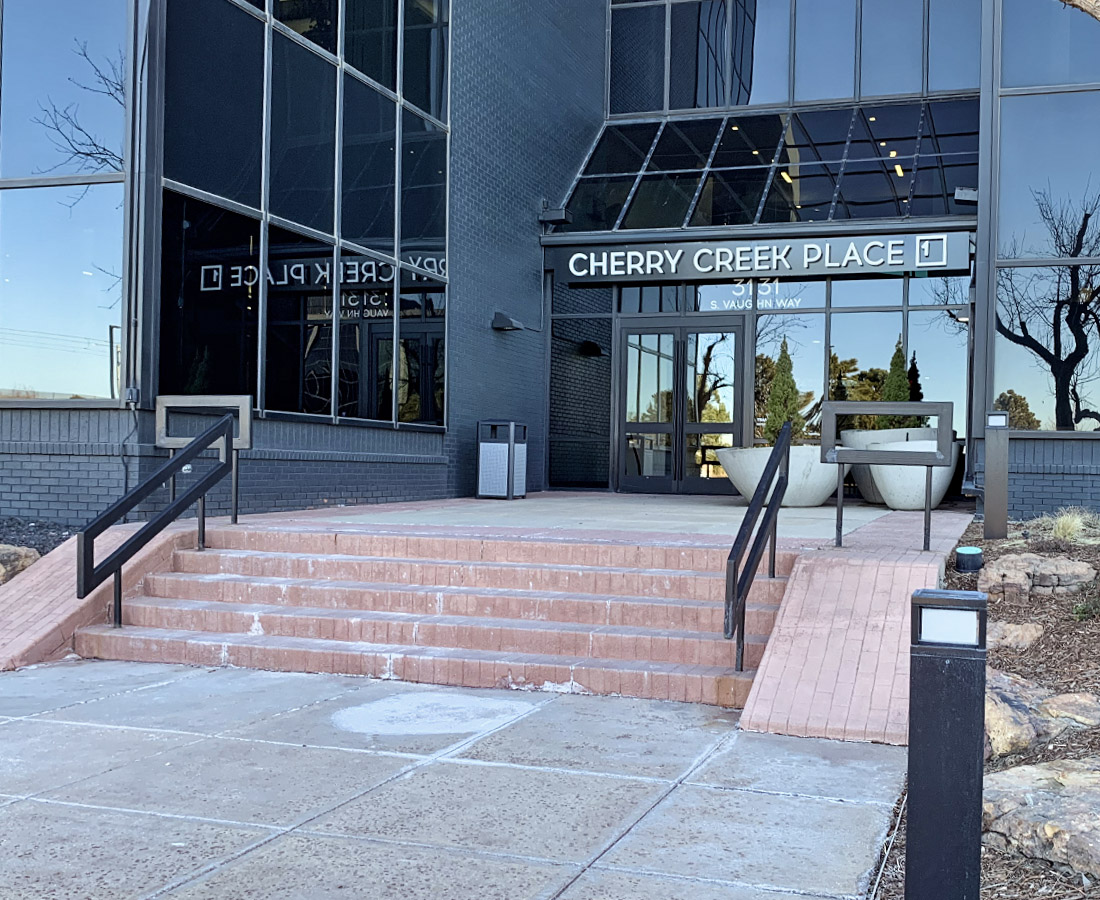 Cherry Creek Place 1 exterior signage