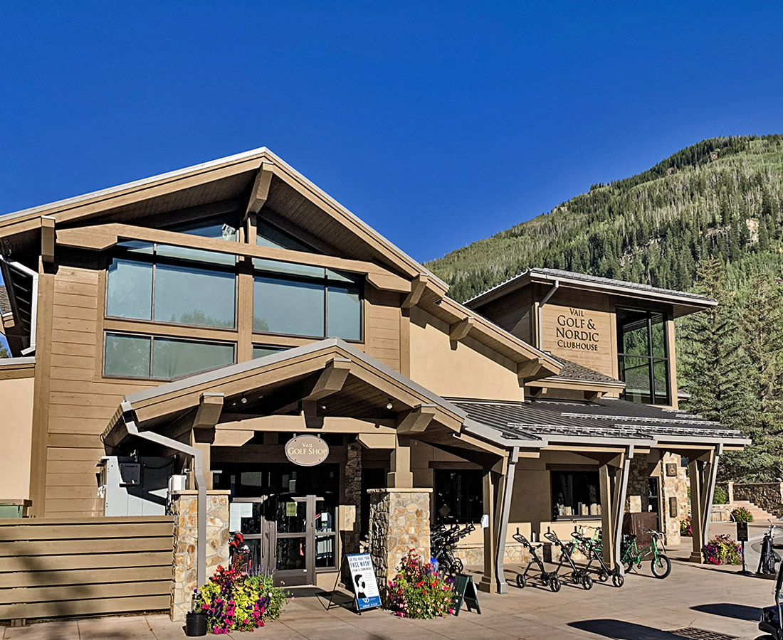 Vail Golf and Nordic Clubhouse exterior building