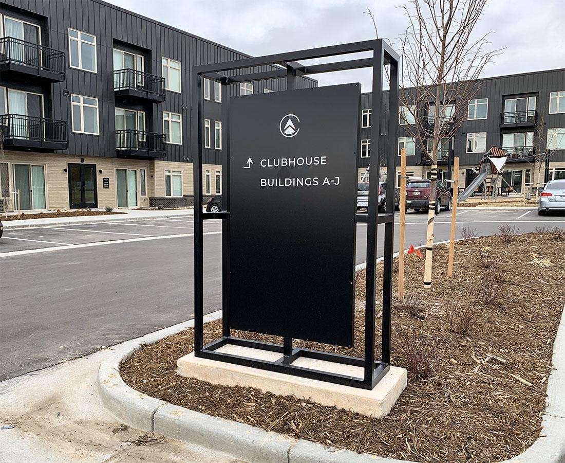 Clovis Point Apartments exterior directional