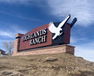 Highlands Ranch Monument Sign C470