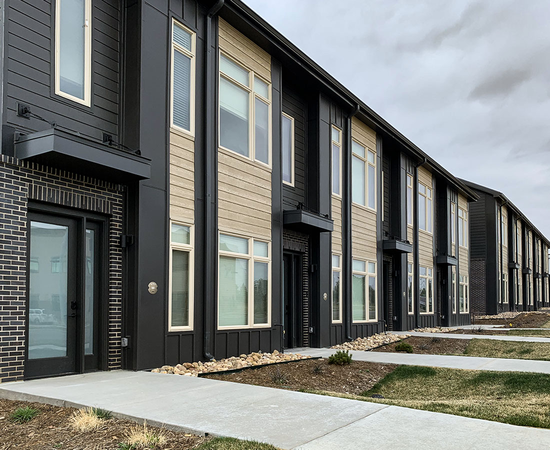 Clovis Point Apartments exterior buildings