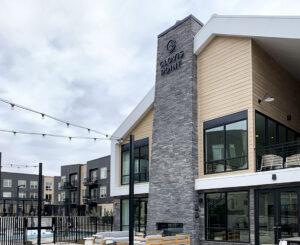 Clovis Point Apartments Chimney sign