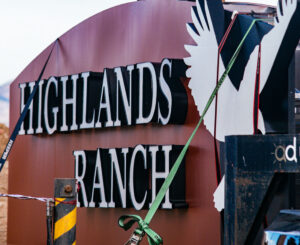 Highlands Ranch C470 Monument Sign