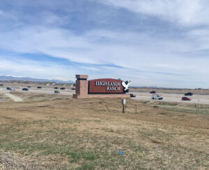 Highlands Ranch Illuminated Monument Sign